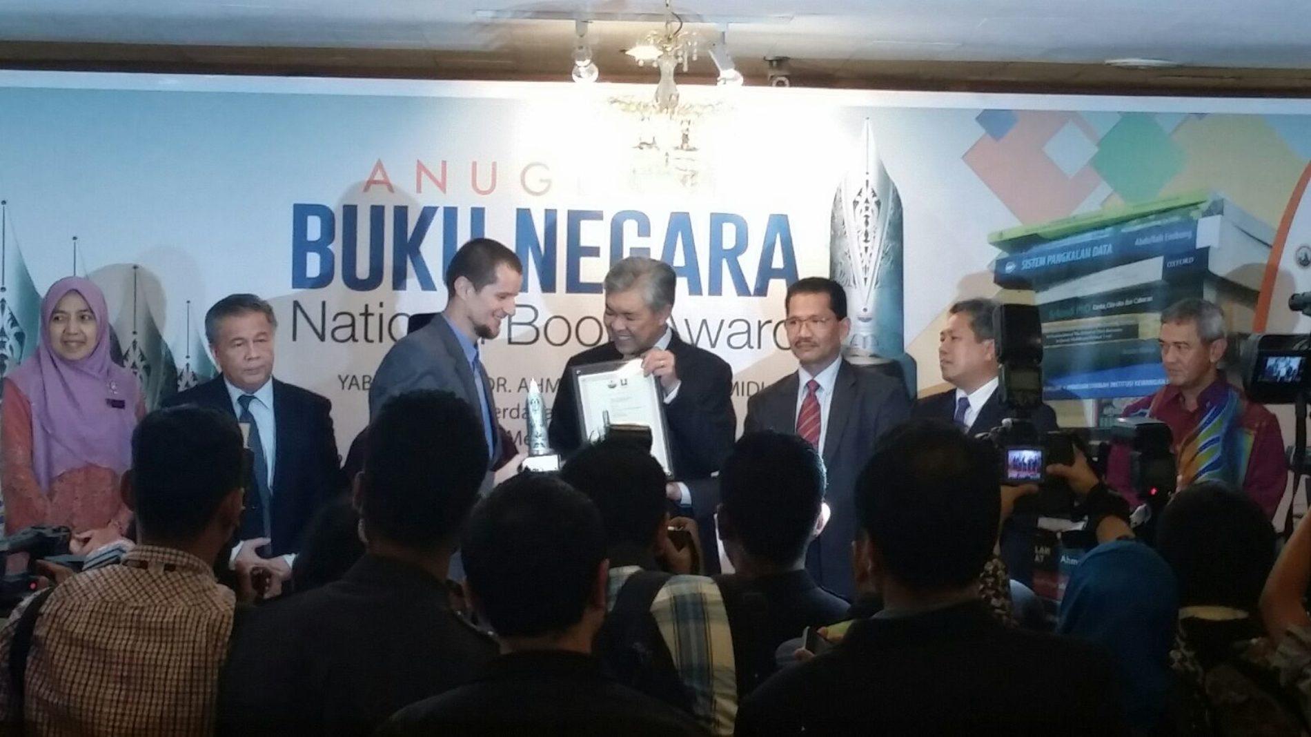 Prof. dr. Omer Spahić dobitnik nacionalne nagrade za najbolju knjigu u Maleziji