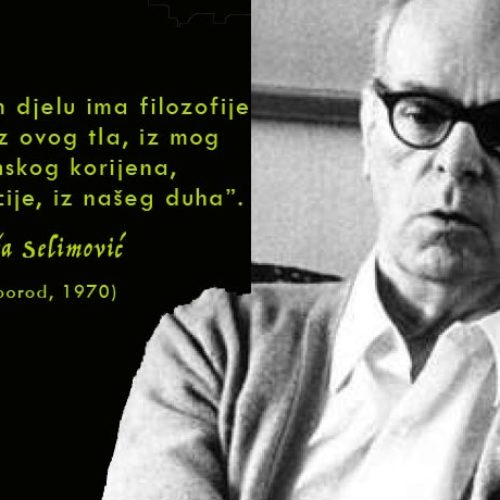 Preporodov intervju s Mešom Selimovićem: Moja filozofija je iz mog muslimanskog korijena