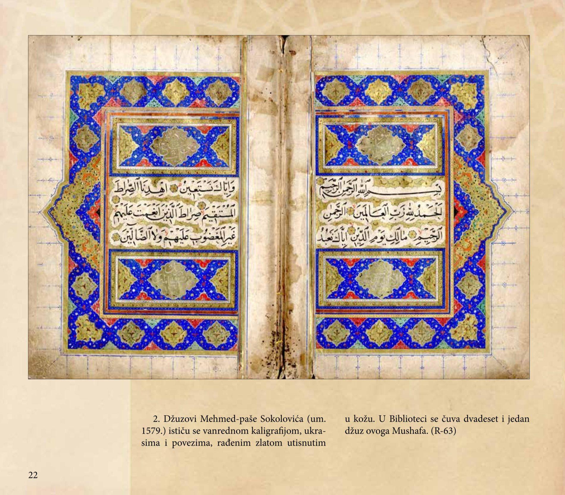 Mushafi – Vrijedni rukopisi Gazi Husrev-begove biblioteke