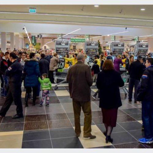 Bingo shopping centar u Trebinju privukao hiljade kupaca