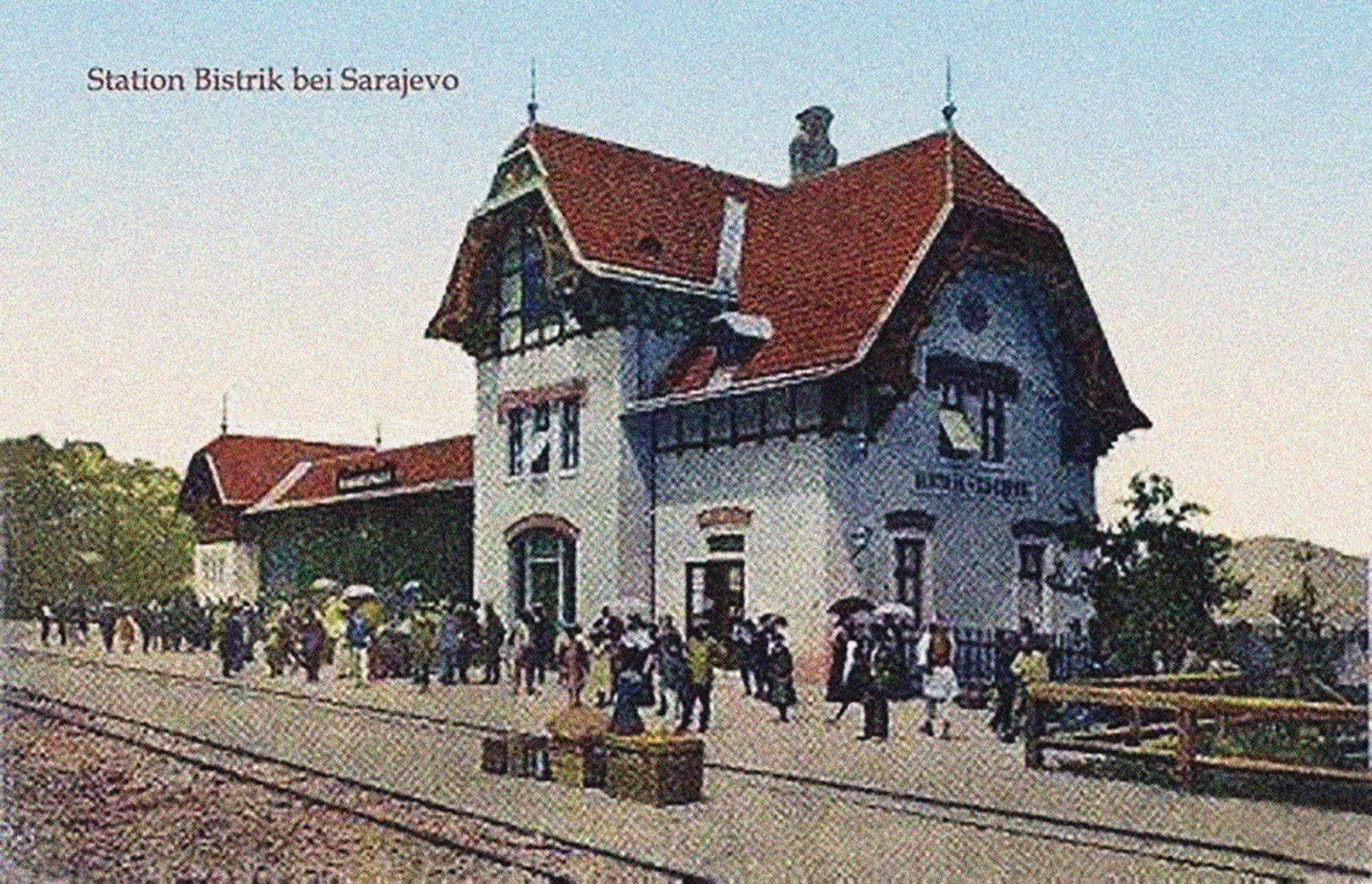 Zgrada željezničke stanice na Bistriku