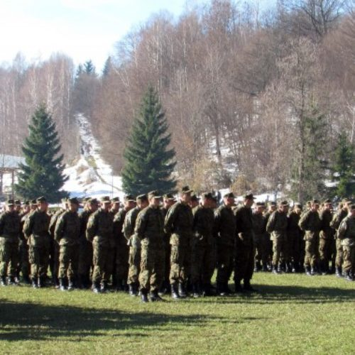 Na ceremoniji u Pazariću svečanu zakletvu položili pripadnici 16. generacije OSBiH