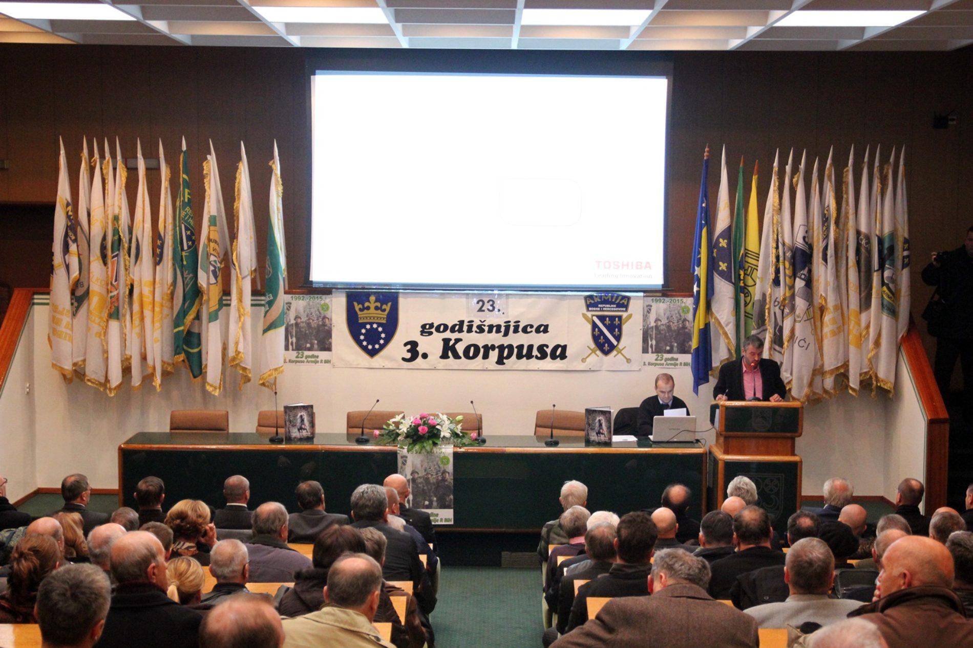 Obilježen dan formiranja Trećeg korpusa Armije RBiH