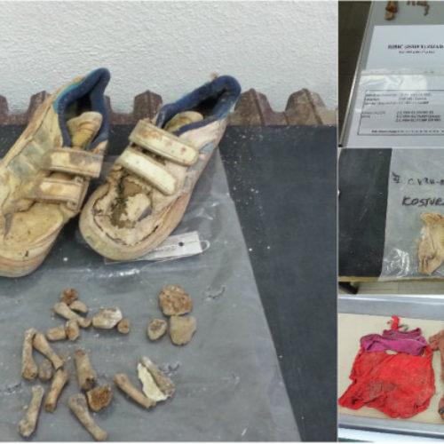 Potresne fotografije iz Komemorativnog centra: Štramplice, čarapice i patikice ubijenih zvorničkih mališana
