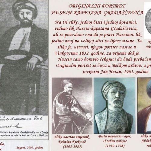 ORIGINALNI PORTRET HUSEIN-KAPETANA GRADAŠČEVIĆA