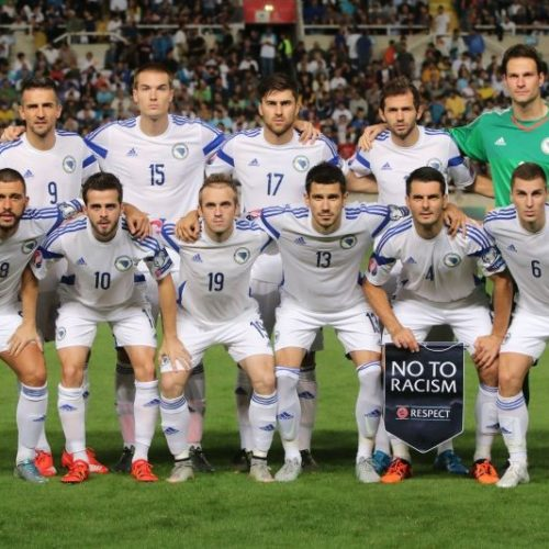 Bosna i Hercegovina protiv Španije 29. maja u St. Gallenu