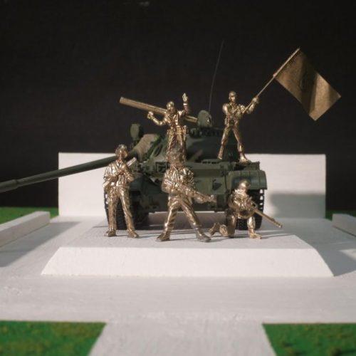 Zarobljeni agresorski tenk: Bosanski specijalci dobijaju spomenik