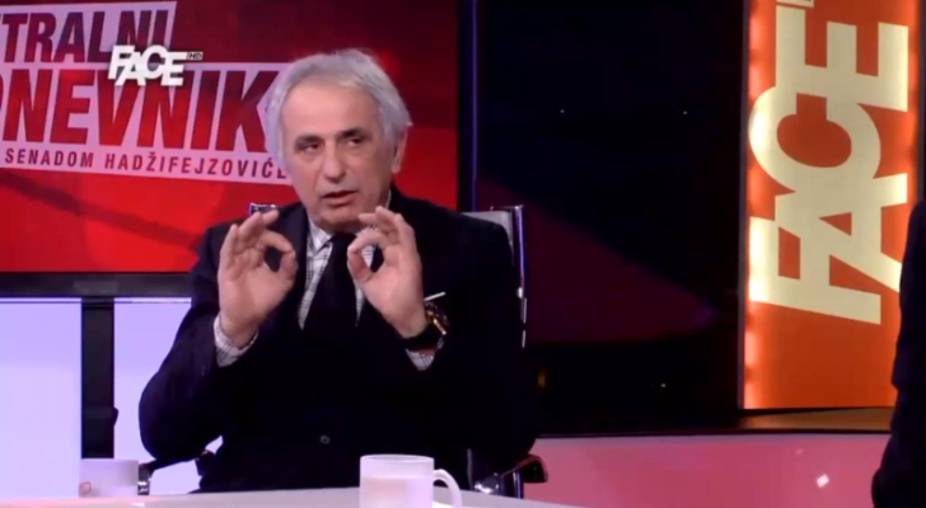 Vahid Halilhodžić u CD-u: Moje prezime je bilo predugo za Beograd…