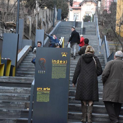 Sarajevo: Svečano otvoreno obnovljeno stepenište u Pruščakovoj ulici (Foto)