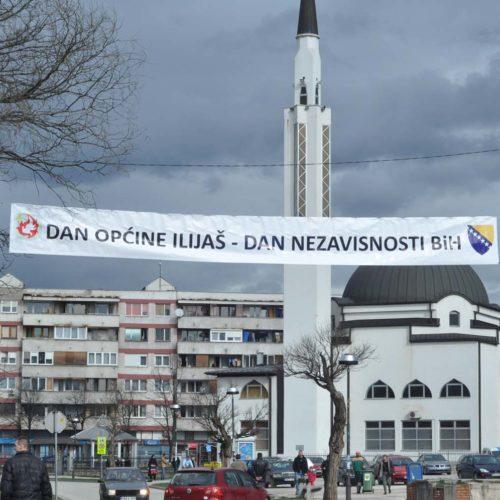 ILIJAŠ: Praznična atmosfera povodom nastupajućeg Dana općine i Dana nezavisnosti (FOTO)