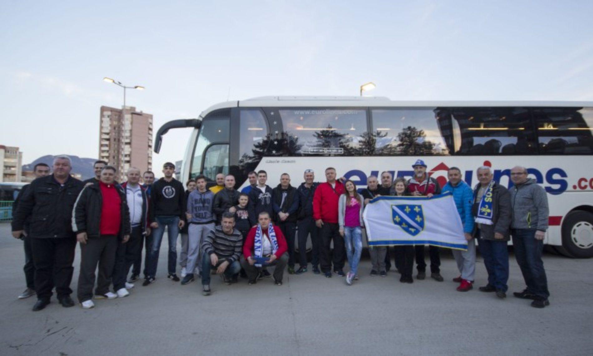 Bosanski navijači krenuli u Cirih