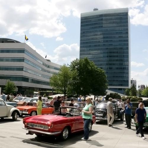 Susret vlasnika oldtimera u Sarajevu: Među izloženima i automobil Franklina Roosevelta (FOTO)