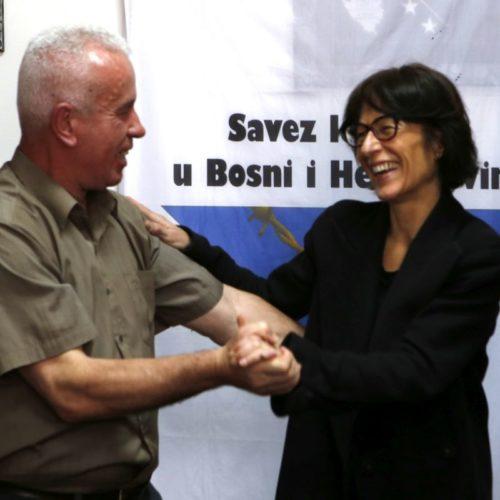 Florence Hartmann posjetila Savez logoraša Bosne i Hercegovine