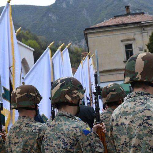 Održana svečanost u povodu obilježavanja 22. godišnjice formiranja 7. korpusa ARBiH (Foto/Video)