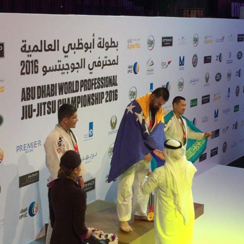 Almir Kapić svjetski prvak u brazilskom Jiu-Jitsu
