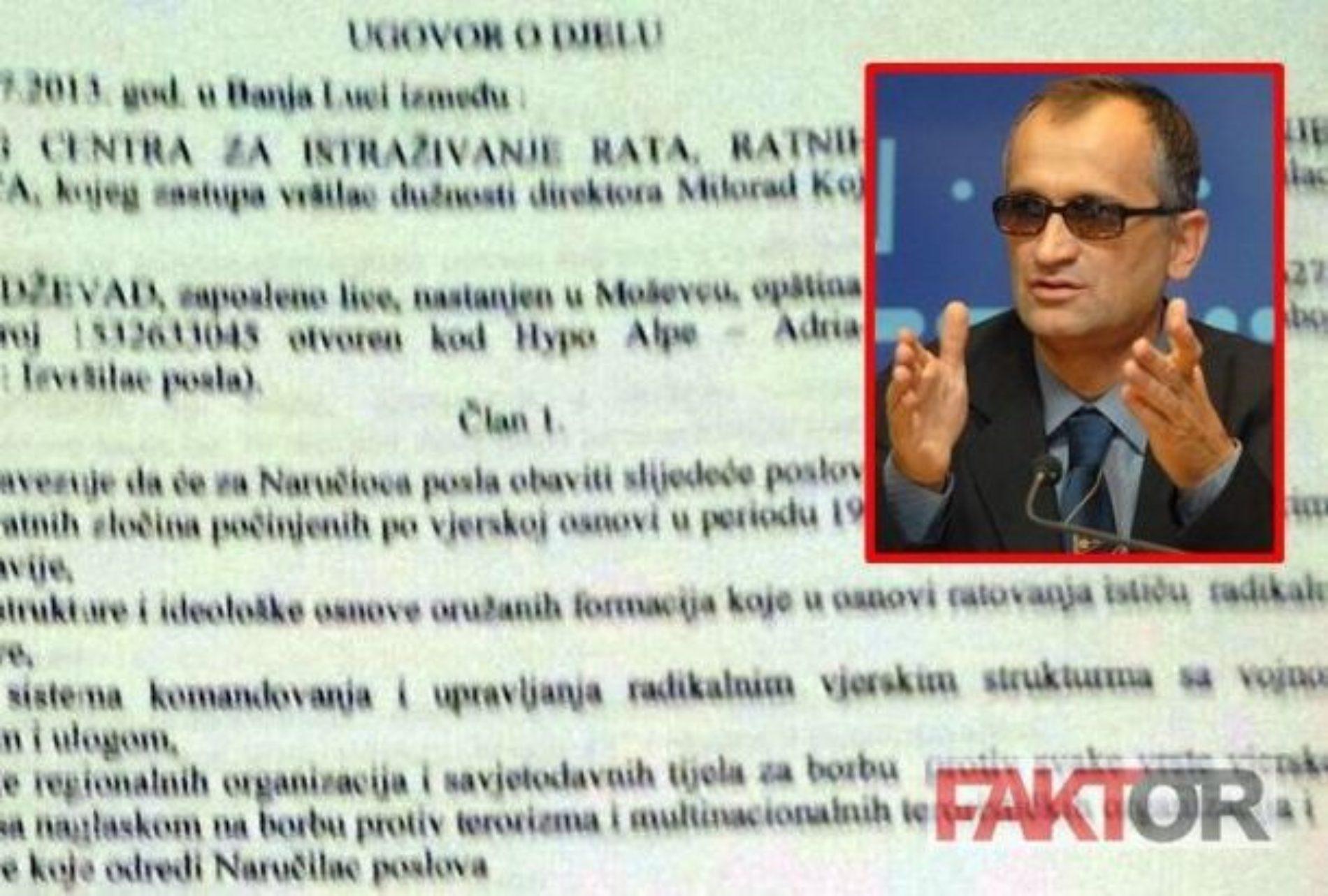Ekskluzivno: Otkriveno ko i koliko plaća Dževada Galijaševića da širi laži o Bošnjacima