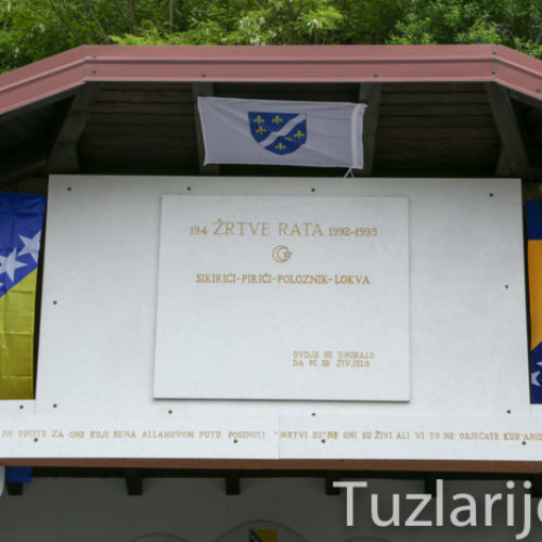 Pirići kod Bratunca: Šehidski nišan kao trajna opomena na žrtve agresije (Video)