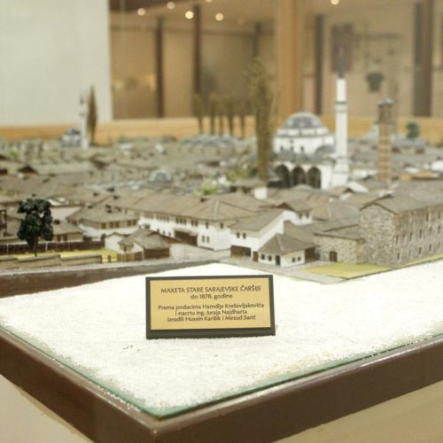Predstavljena interaktivna maketa iz Osmanskog perioda: Virtuelna šetnja kroz staro Sarajevo