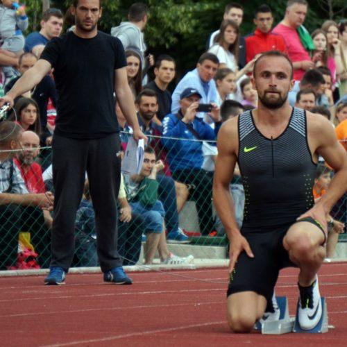 "Amel Tuka oborio lični rekord u disciplini 400 metara na atletskom mitingu u Centru ""Safet Zajko"""