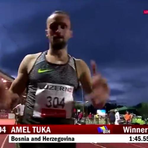 Amel Tuka pobijedio u Luzernu