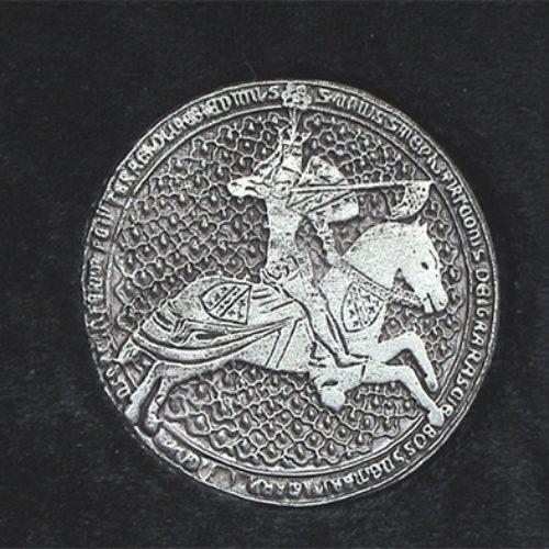Konji na srednjovjekovnim obilježjima