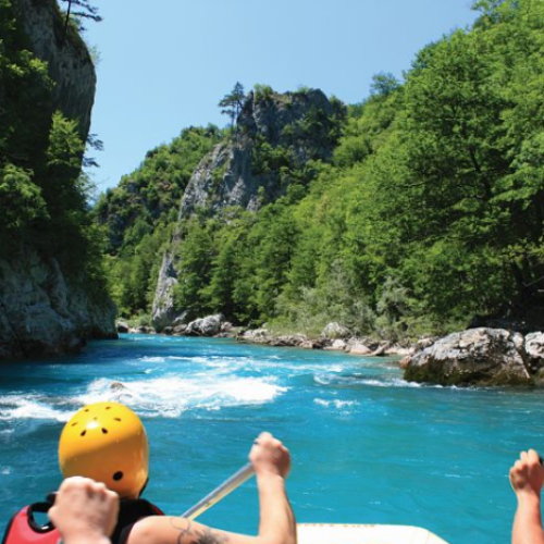 Rafting na Tari bez prelaska u Crnu Goru