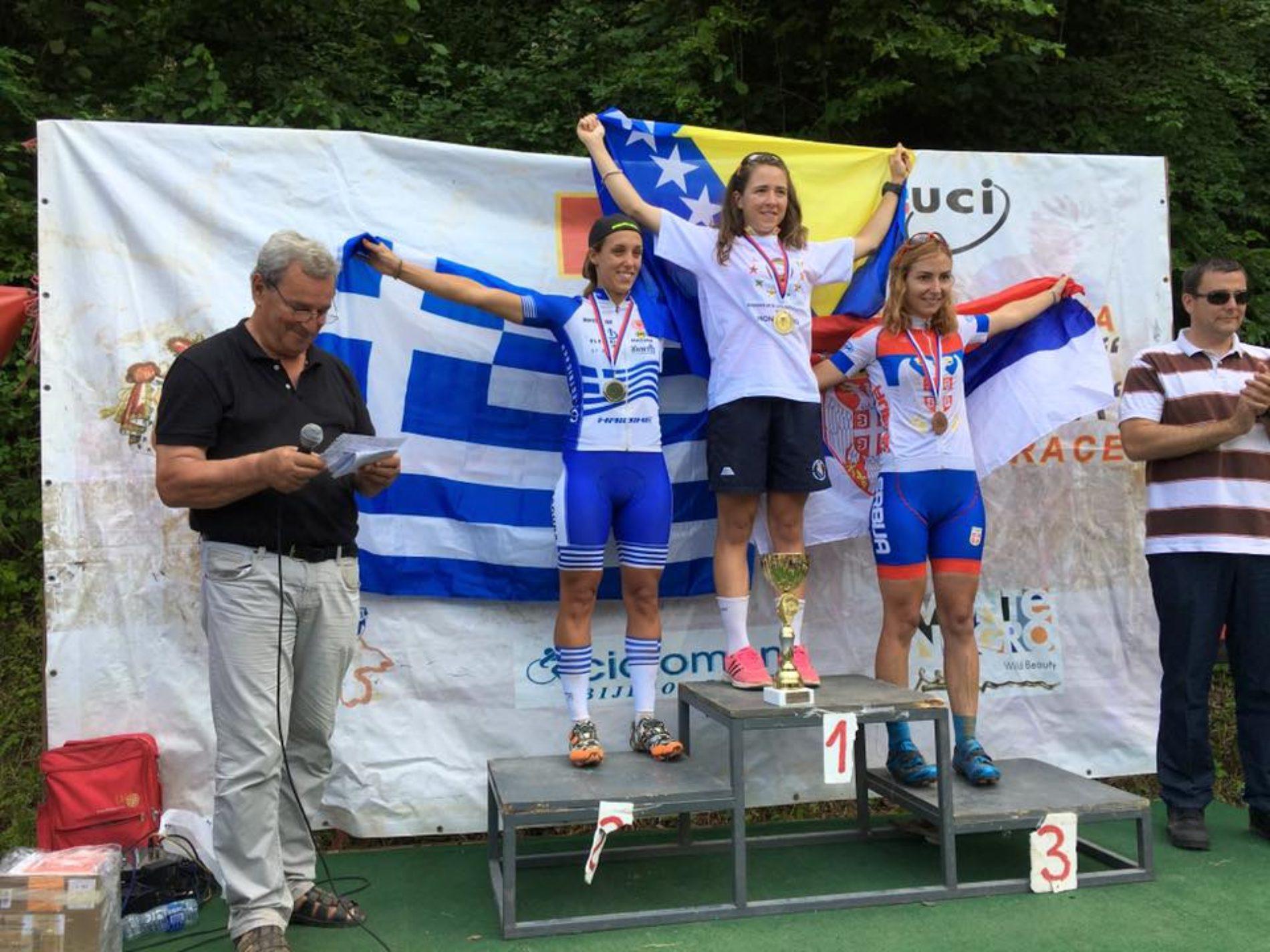 Lejla Tanović prvakinja Balkana u brdskom biciklizmu
