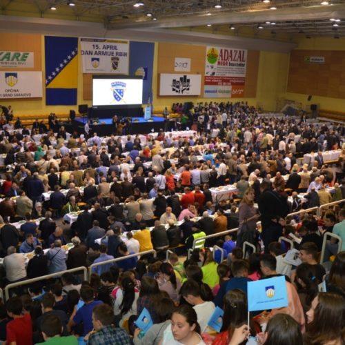Sarajevska općina Novi Grad dostojanstveno obilježila 15. April, Dan ARBiH