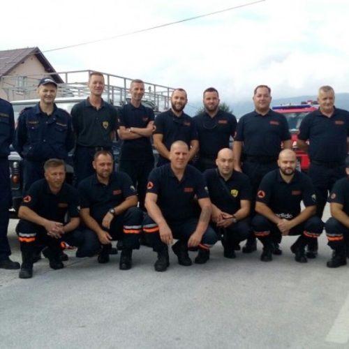 Pripadnici FUCZ-e i sarajevski vatrogasci vratili se iz Makedonije