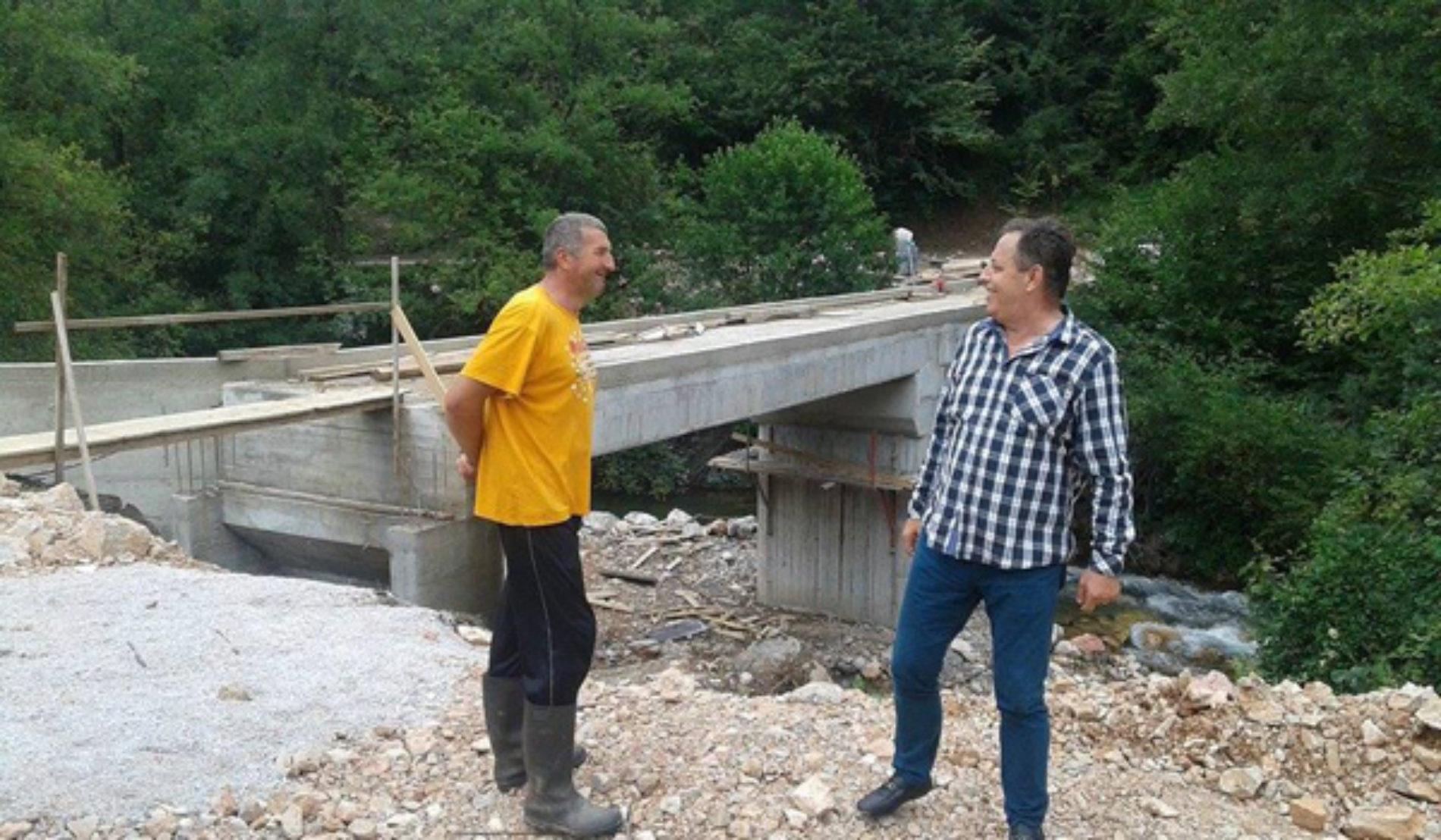 Fočanski povratnik- neimar: Podigao most na Sutjesci!