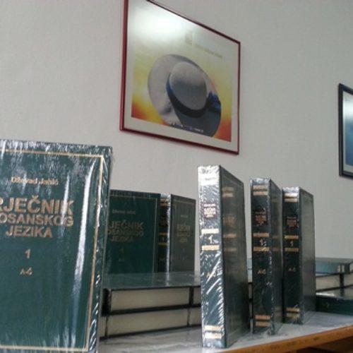 Promoviran Rječnik bosanskog jezika Dževada Jahića: Kapitalno djelo za bosansku jezičku zajednicu