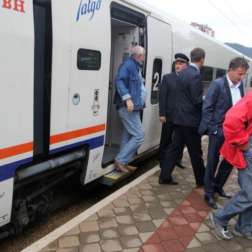 Novi Talgo voz stigao u Zenicu