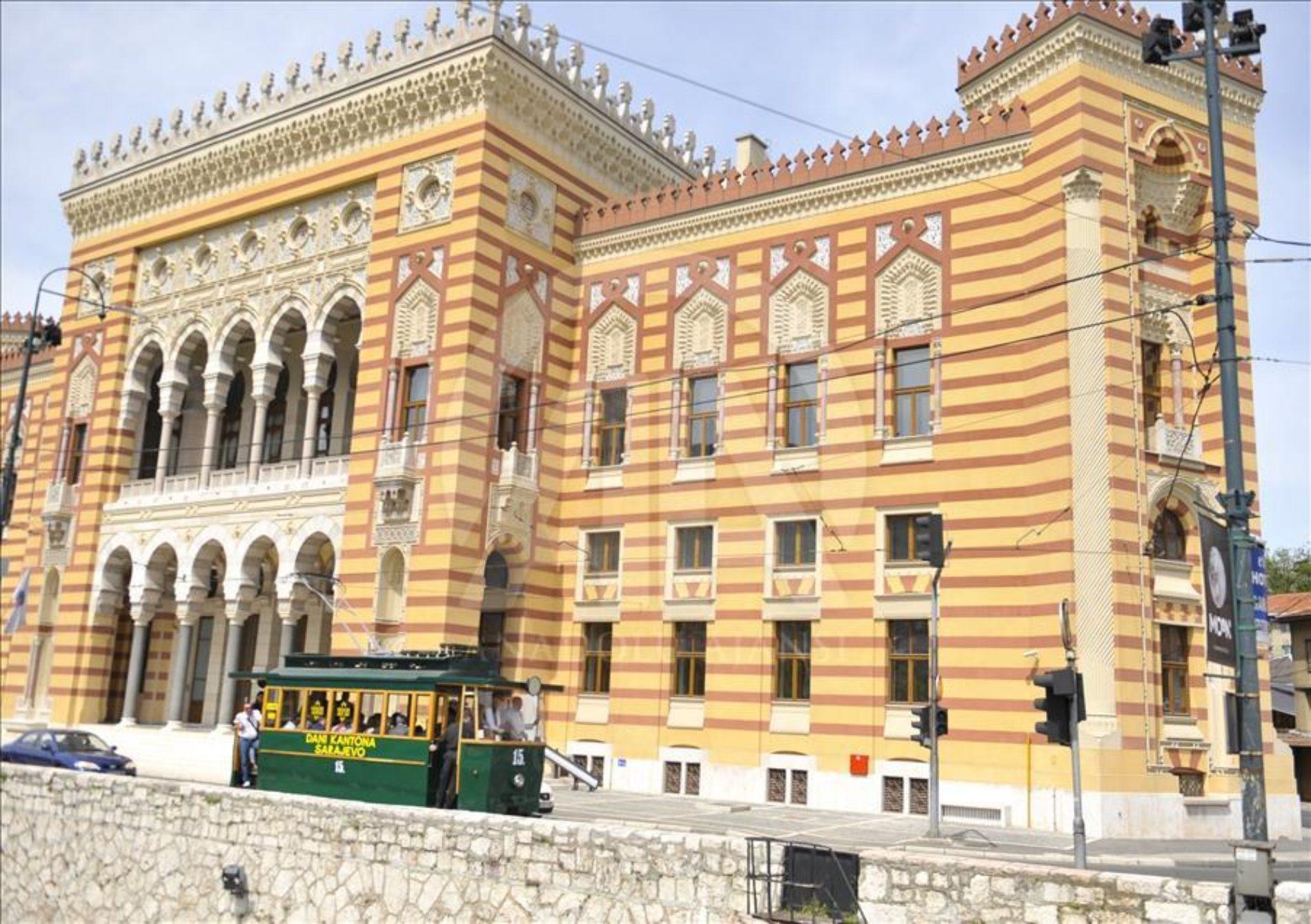 24 godine od noći kada je gorio jedan od simbola Sarajeva (Foto)