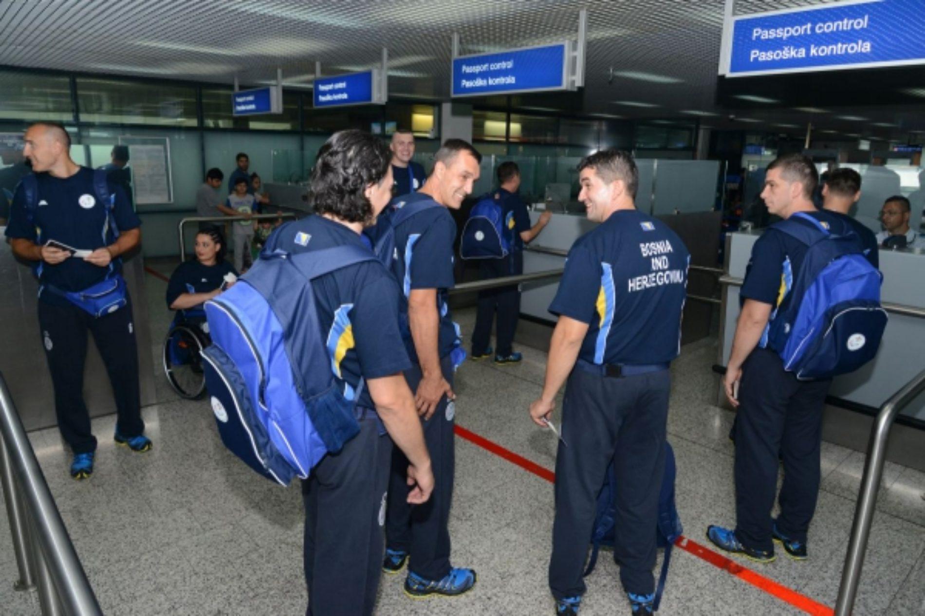 Bh. paraolimpijci otputovali u Rio