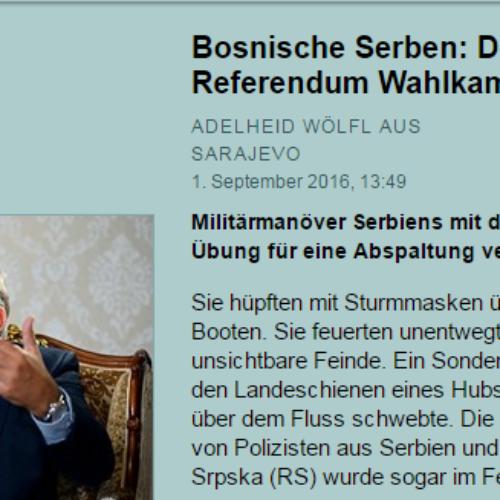 Austrijski mediji: RS je bankrotirala, socijalna situacija je loša. Moćnik iz Banja Luke opet igra na kartu etnonacionalizma