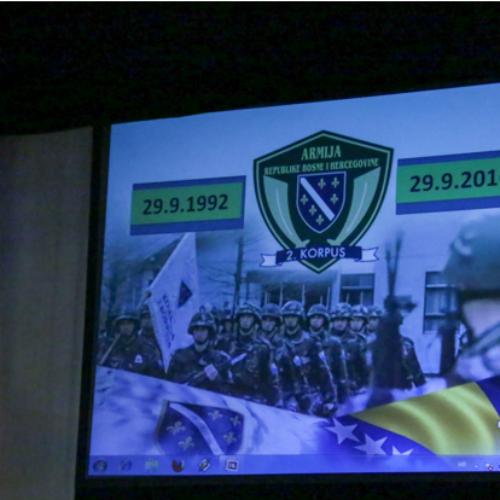 Tuzla: Obilježena 24. godišnjica formiranja Drugog korpusa Armije RBiH