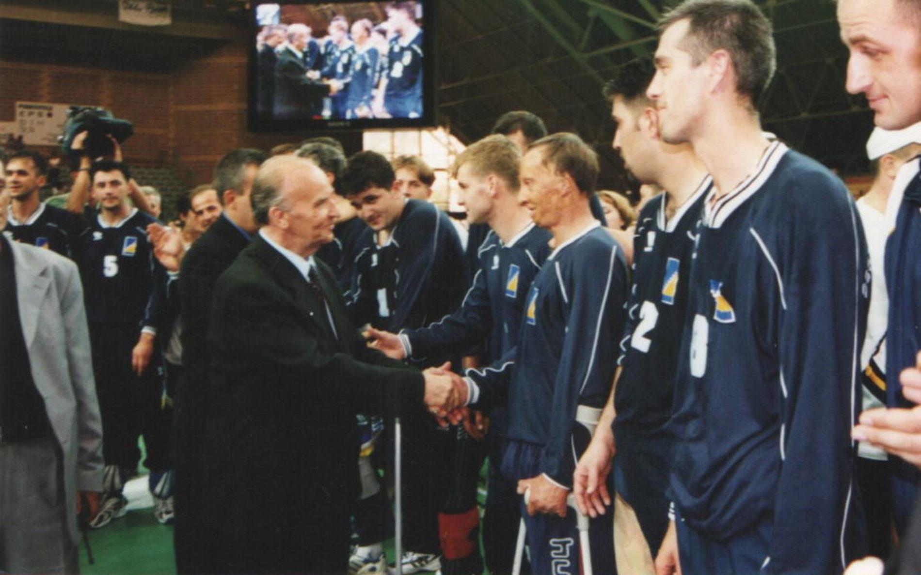 Reprezentacija Bosne i Hercegovine u sjedećoj odbojci – U nepune dvije decenije 21 osvojena medalja (15 zlatnih)