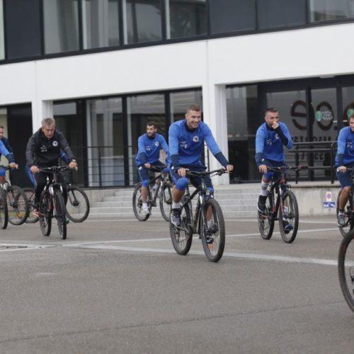 Zmajevi se pripremaju za utakmicu protiv Belgije