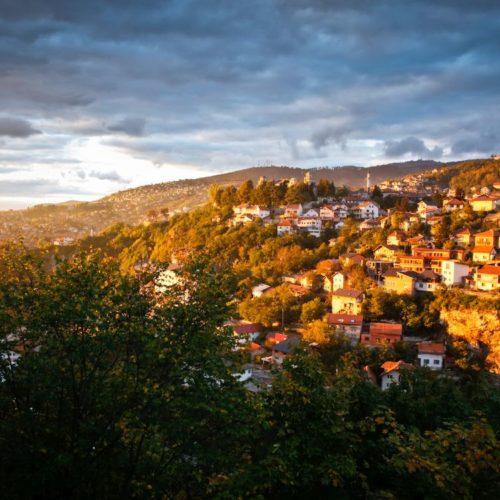 Čarobno predvečerje u Sarajevu (FOTO)
