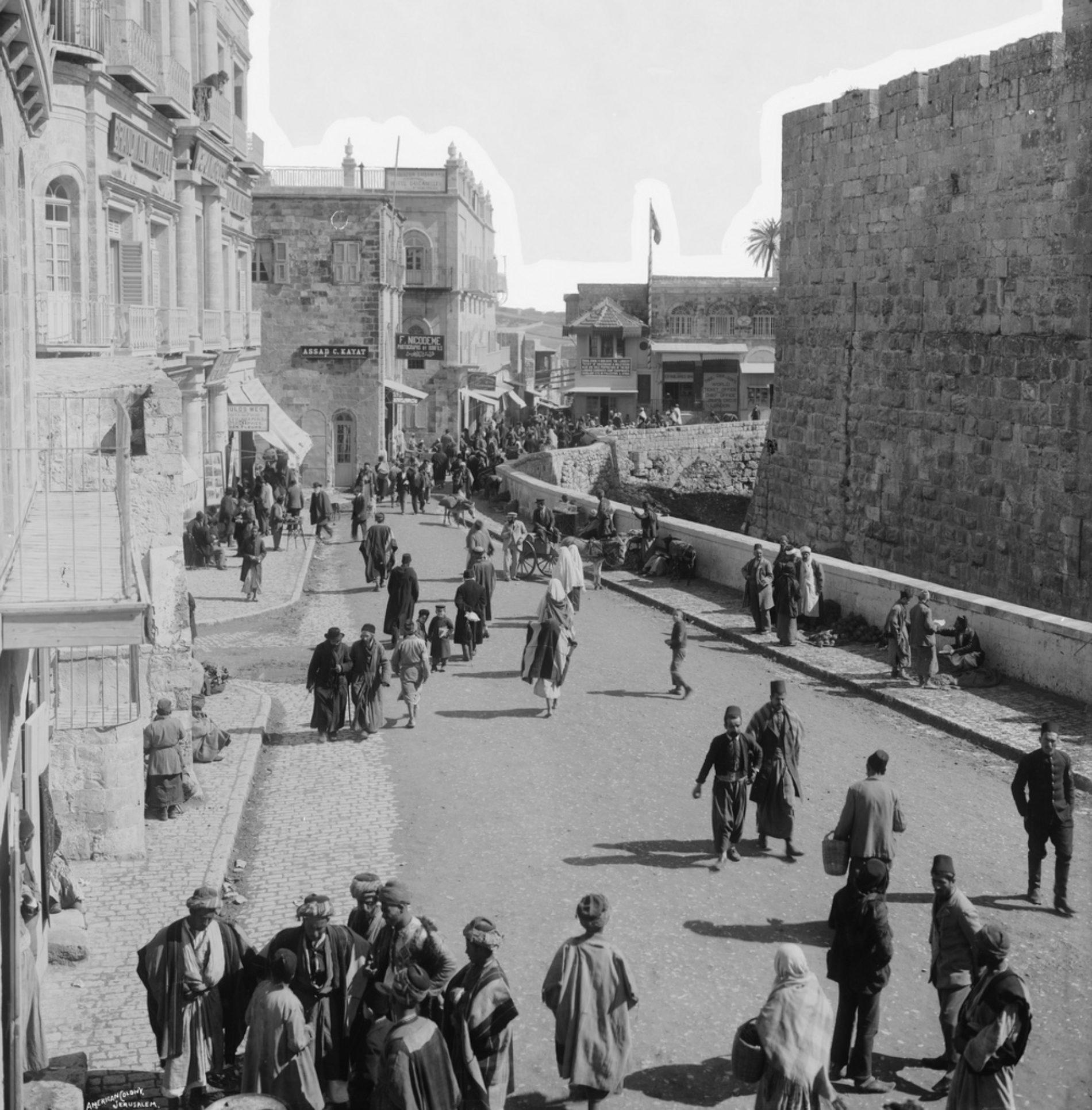 Hadžije Bosanci-katolici u Palestini