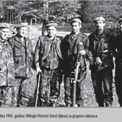 Sjećanje na majora Mihajla Petrovića: Legendarni komandant sa Vlašića