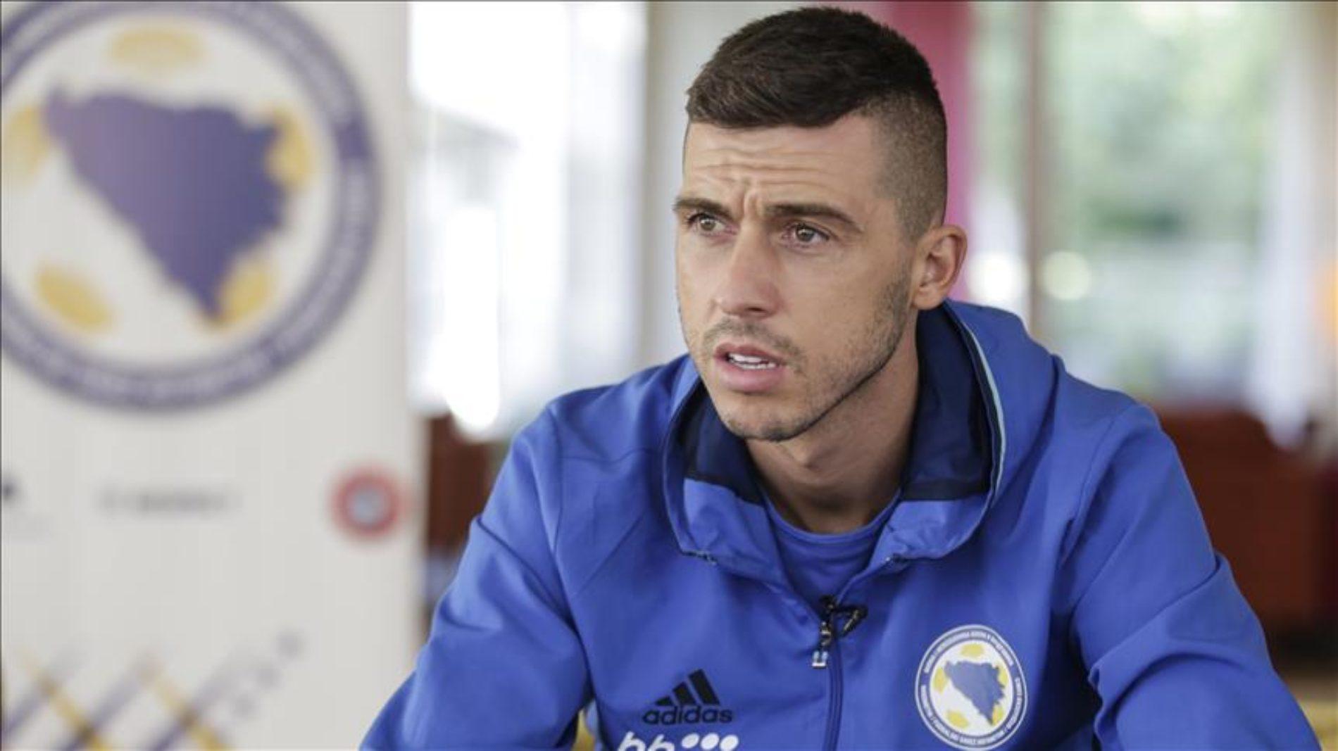 Medunjanin: Želimo da odemo na Svjetsko prvenstvo 2018.