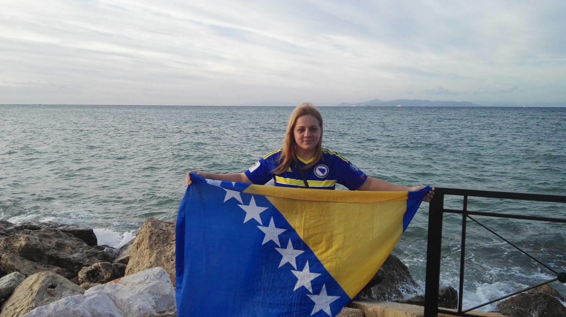 Jasmina iz Travnika bodri Zmajeve u Grčkoj