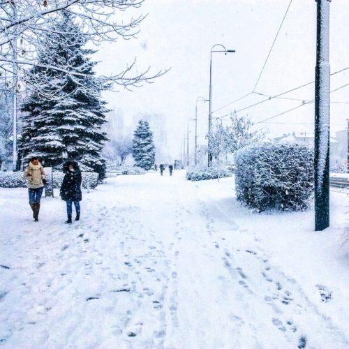 Snijeg očistio zrak u Sarajevu!