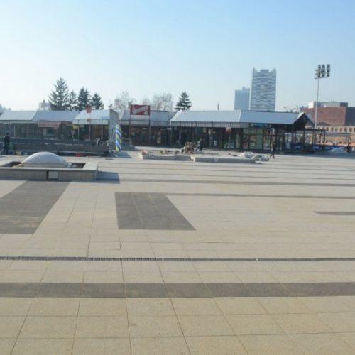 Završetak rekonstrukcije platoa Skenderije u narednim danima
