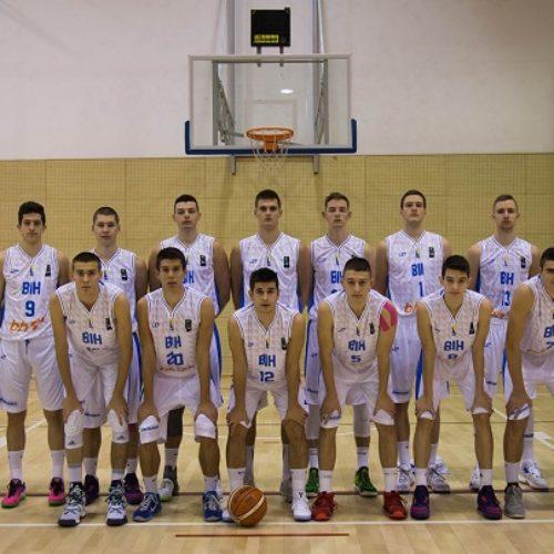 KOŠARKA: Juniorska reprezentacija Bosne i Hercegovine protiv Izraela otvara Evropsko prvenstvo