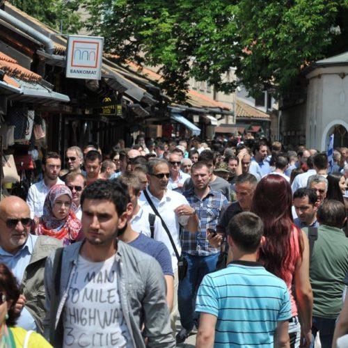 Sarajevo: Skoro 40 % više turista nego prošle godine