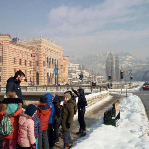 Besplatni turistički obilasci Sarajeva za osnovce (Foto)