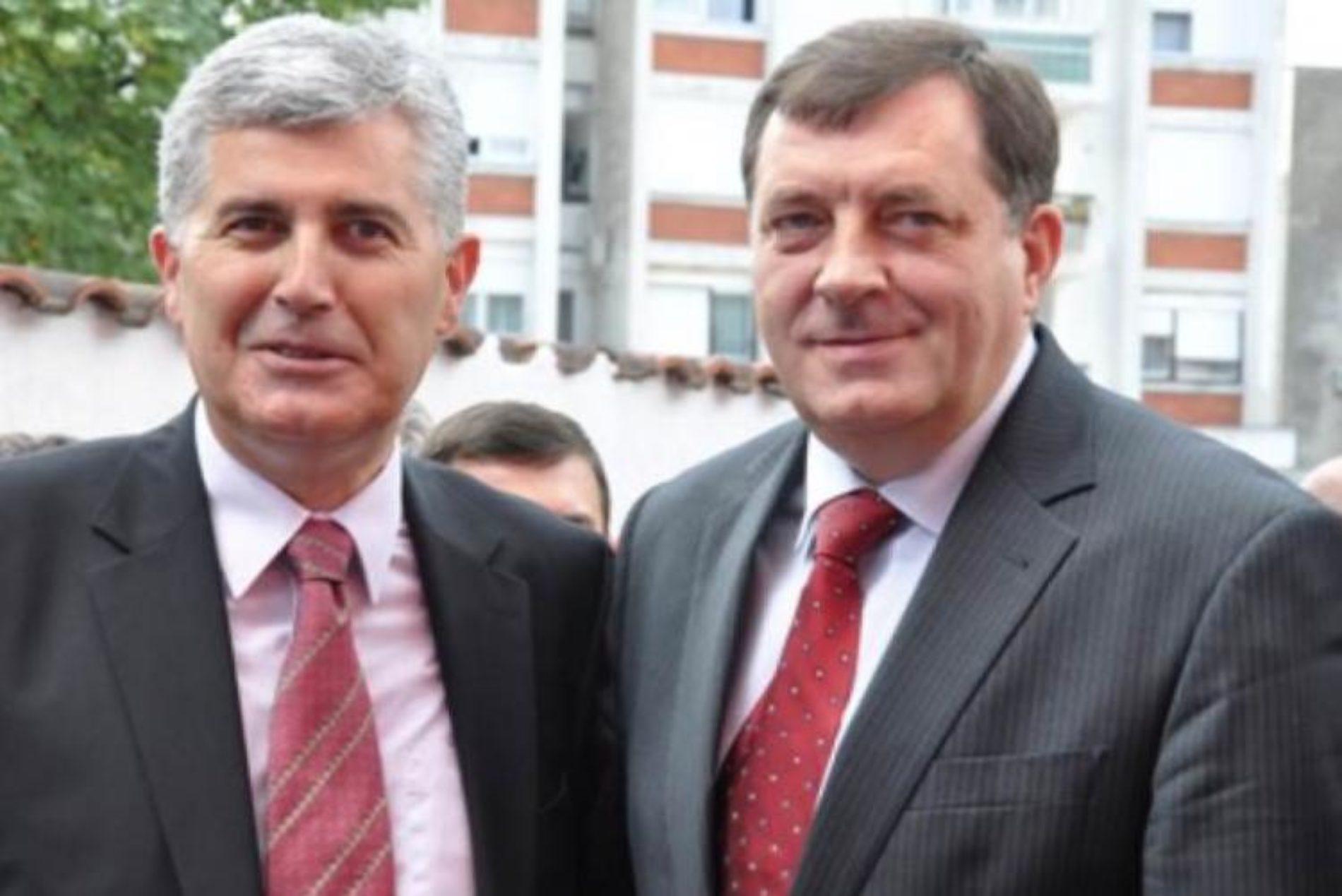 Partneri Dodik i Čović se protive reviziji tužbe protiv Srbije