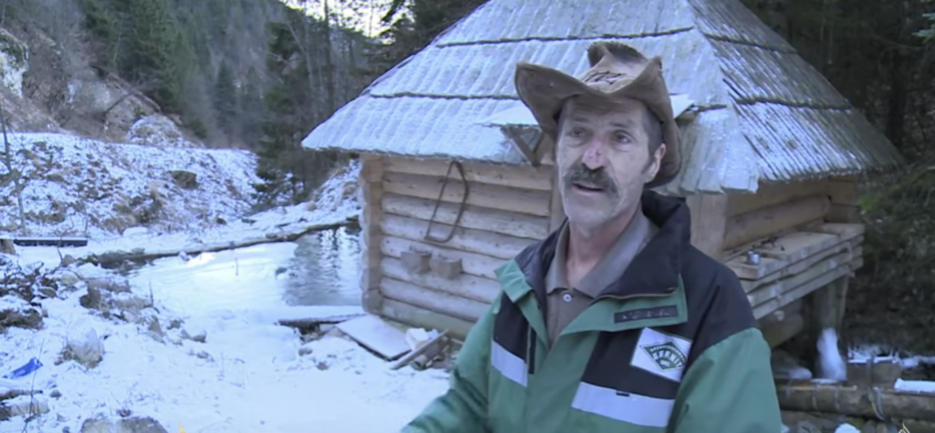 Život s prirodom: 'Vlašićki Robinzon' ne razmišlja o povratku u grad (Video)